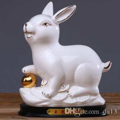 Chinese Chinese Zodiac Zodiac rat Niu tiger rabbit dragon snake creative ceramics crafts animal