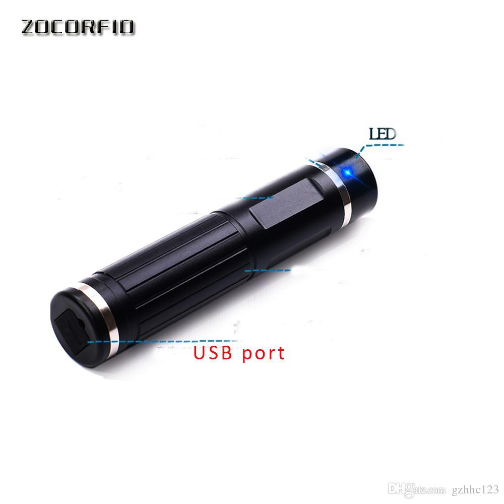 Fai da te 125KHZ impermeabile USB metallo Rfid Guardia Tour Patrol Sistema con LED Light + 10 Punti di controllo 2 Staff RFID Tag