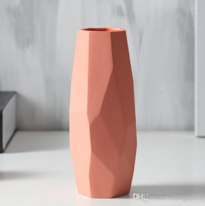 ceramica creativa Minimalista fiori vaso pentola home decor artigianato camera decorazioni di nozze figurine di porcellana artigianato