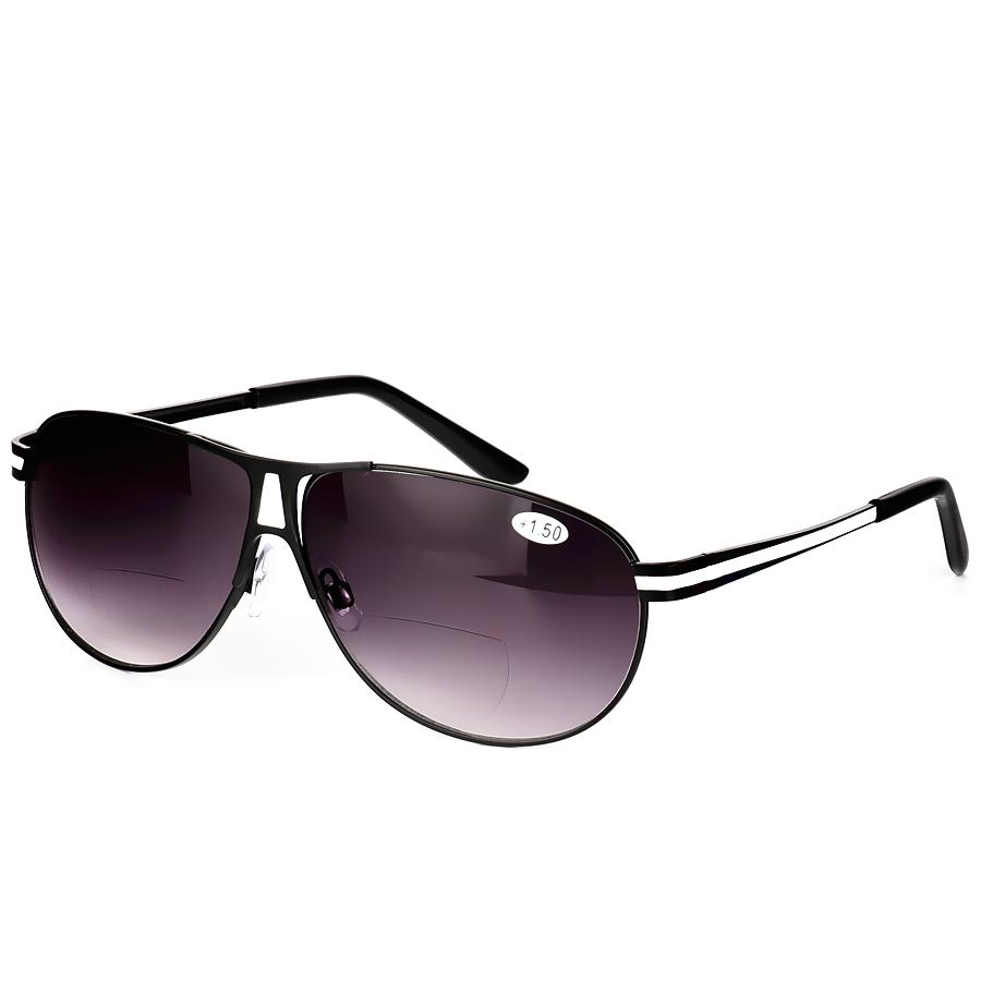 Bifokale Lesebrille Unisex Dioptrienbrille Männlich Polarisierte Sonnenbrille Presbyopische Brille + 1.0 + 1.5 + 2.0 + 2.5 + 3.0 + 3.5