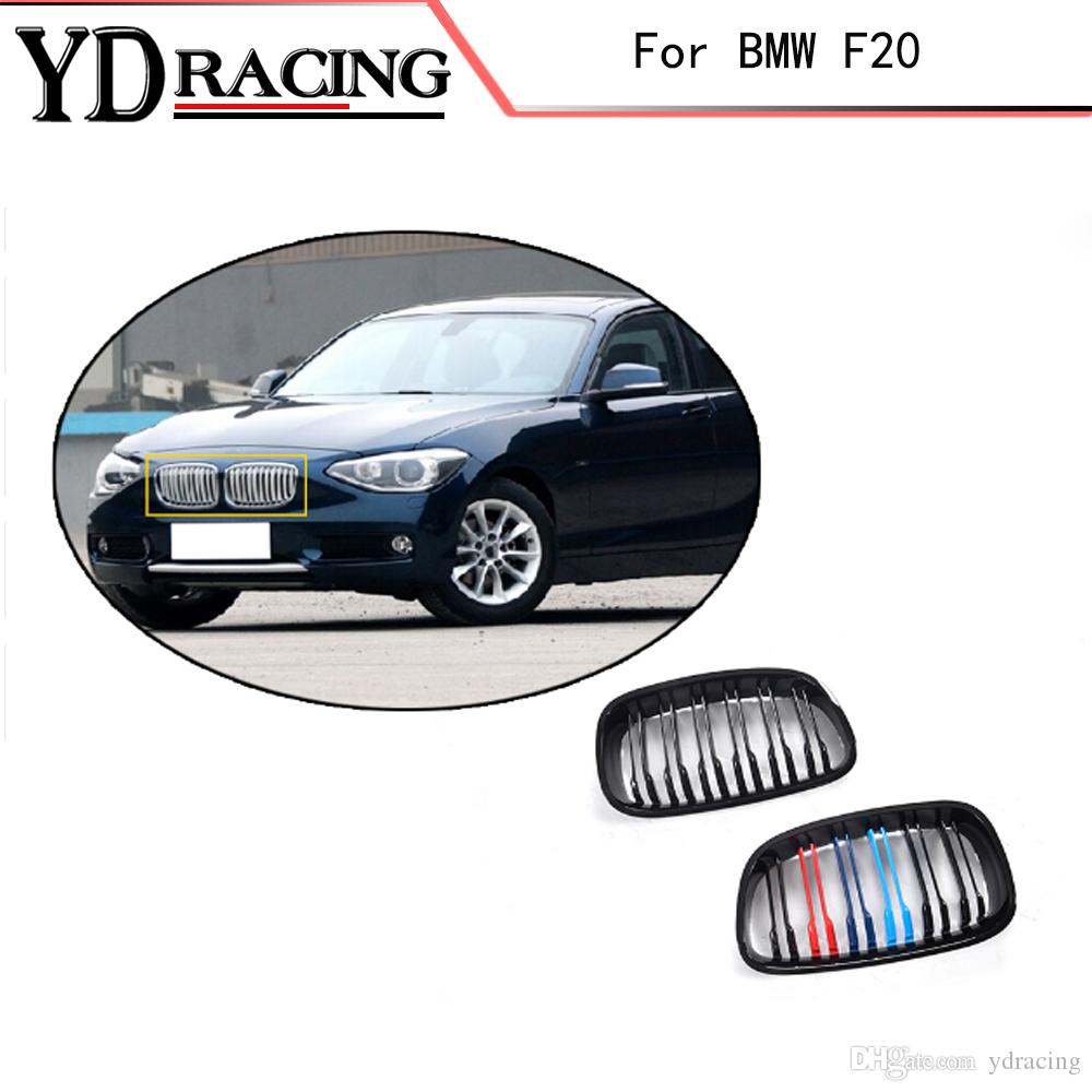 Auto Styling ABS Mesh Glanz Auto Frontgrill Grille Für BMW 1 Serie F20 116i 118i 120i 125i 135i 2012-2014