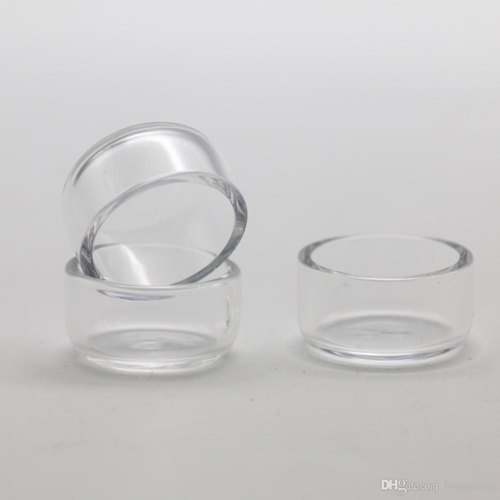 Quarzo Inserire le ciotole Phat Drop Skillet con piatta top narghilè inferiori termica per L XL XXL Thick Domaless Banger Nail Pipes