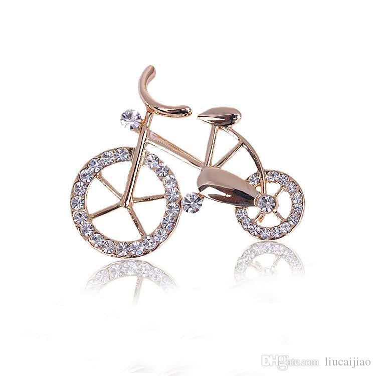 Koreanische Mode Fahrrad Liebhaber Brosche Brosche Fahrrad Brosche Geschenk Fabrik Großhandel