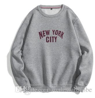 Stadt Men Casual Entwerferhoodies-Frühlings-O-Ansatz Art und Weise Sweatshirts Pullover