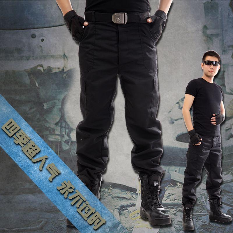 Compre Alta Calidad 2018 Monos De Carga Ejercito Comando Militar Negro Recto Multra Bolsillo Pantalones Hombres M Xxxl A 14 63 Del Kavin1 Es Dhgate Com