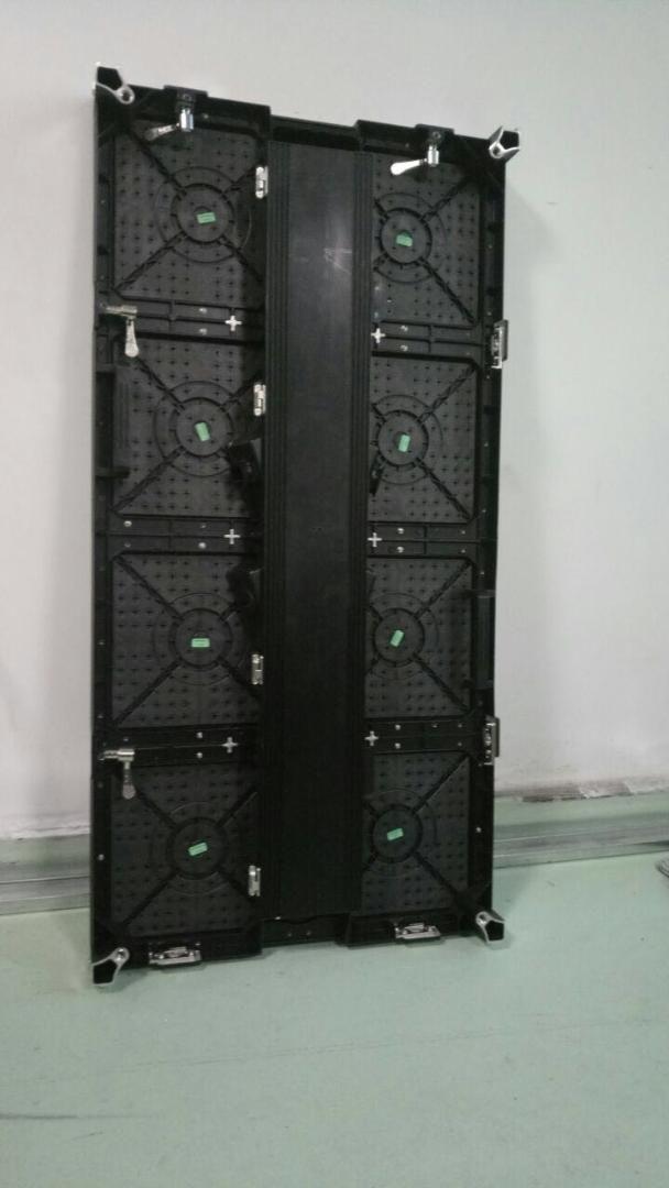 500x1000mm kapalı rgb led ekran p3.91 kapalı kiralama reklam için duvar döküm alüminyum kabine reklam video duvar led ekran