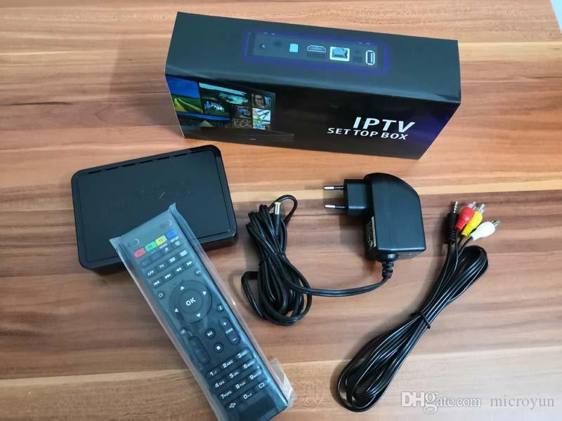 En yeni yeni firmware MAG250 150 M Kablosuz anten Set Üstü Kutu Mag322 Linux Sistemi ile aynı Linux Linux TV Kutusu 256 M Medya Oynatıcı