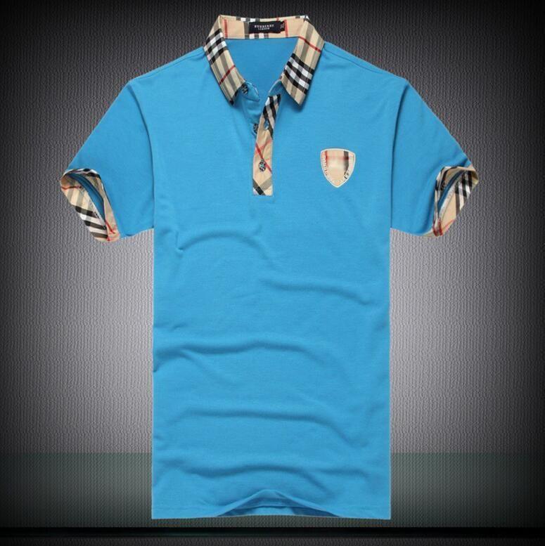 Мужская роскошная футболка Весна хлопок Марка футболка змея пчела печатных рубашка поло черный и белый Азиатский размер M-2XL 7 цвет