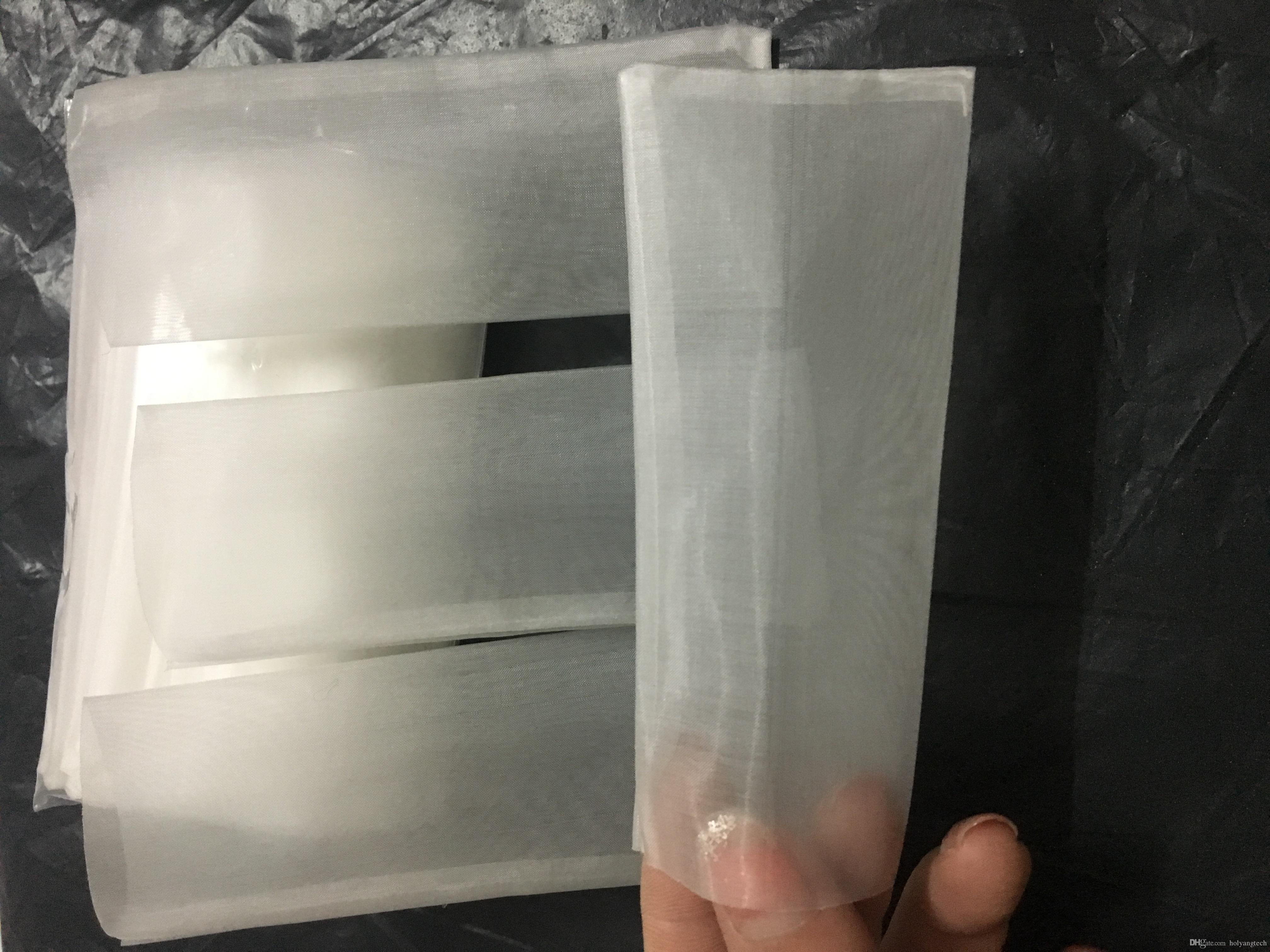 stoklarında 2 x 4 '' Reçine teknoloji pres torbalar 2 * 4inç 120micron sıvı ekstraksiyonu mikron filtre / ağ torbası