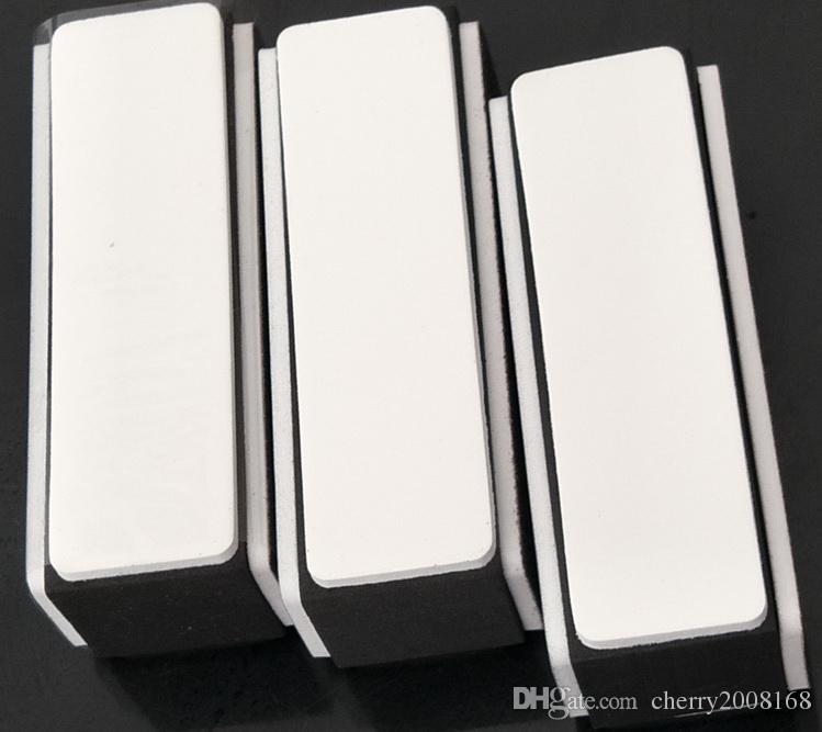 50pcs Retail Black Bianco 4 modi in Nail Art Buffer File Nail Art Strumenti DIY Nail Block File Strumenti di levigatura Manicure