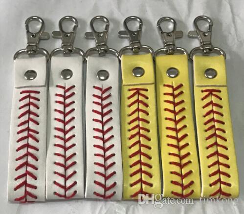 Bracelet 2018 new factory cheap baseball keychain fastpitch softball accessories softball baseball keychain,fastpitch softball accessories