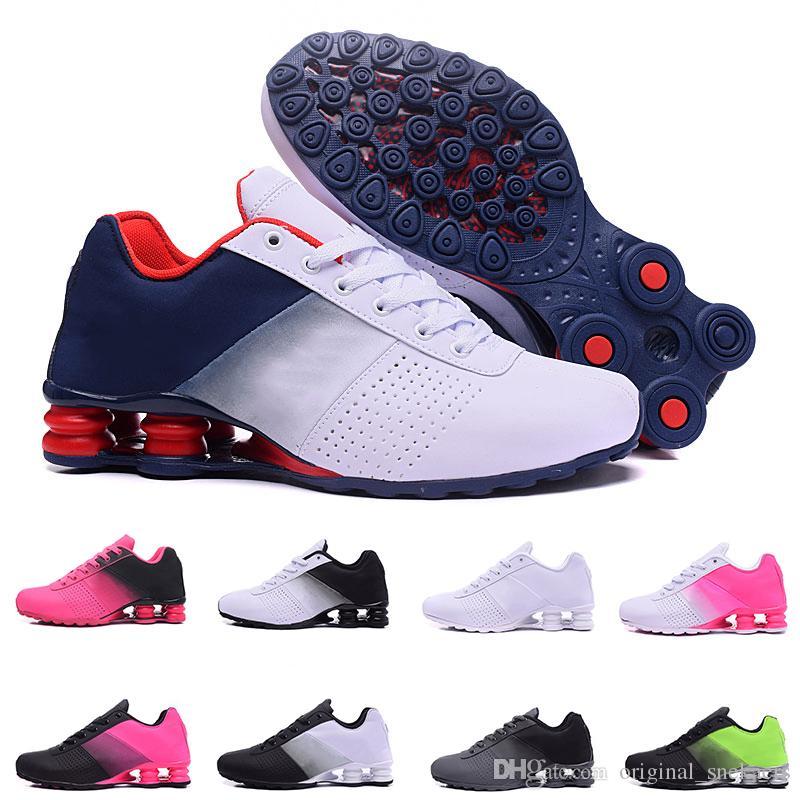 nike shox Ucuz Yeni Teslim 809 Erkekler Hava Koşu Ayakkabıları Drop Shipping Toptan ünlü TESLIMCI OZ NZ Erkek Atletik Sneakers Spor Koşu Ayakkabıları 40-46