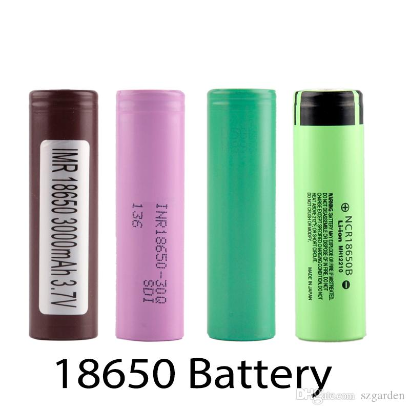 Najwyższej jakości HG2 30Q 3000MAH VTC5 2600MAH NCR18650B 3400MAH 18650 LI-ION 25R 2500MAH Bateria do E Papieros Mod 0204105-4