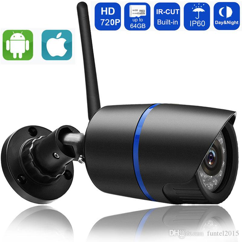 Telecamera IP 720P Wifi Telecamera IP IP 720P Telecamera IP IP wireless con video slot SD Home Security Video