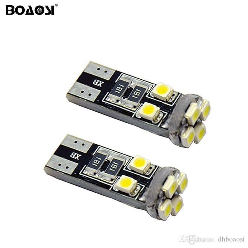 Le stationnement lumineux automatique clair superbe d'espace libre de l'ampoule LED de T10 8SMD 1210 LED a mené des lumières de voiture
