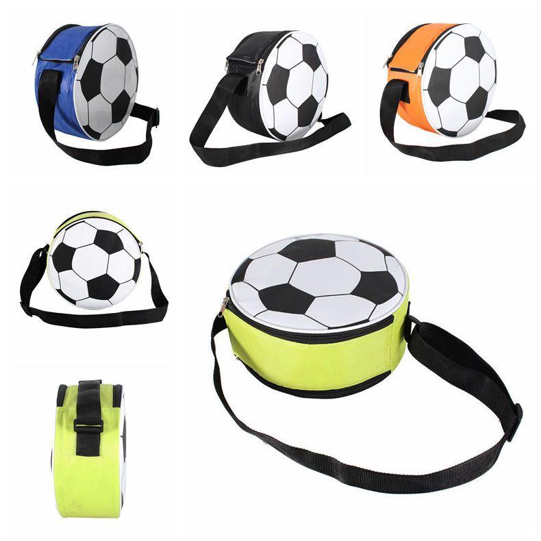 6L Copa do Mundo WorthWhile Ultraleve Forma de Futebol Saco Do Mensageiro Cooler Pack Manter Aquecido para Saco de Acampamento Ao Ar Livre CCA9667 16 pcs