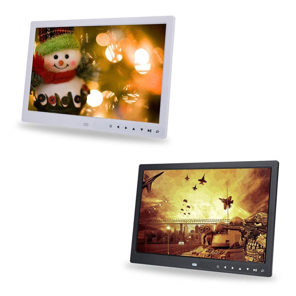 15 inç 1280 * 800 HD Dokunmatik Ekran Dijital Fotoğraf Çerçevesi Çalar Saat Film Oynatıcı