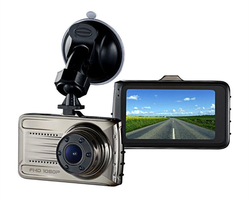 "Full HD car DVR dashboard camera 3"" car event recorder 1080P 2Ch 170 degrees night vision G-sensor WDR motion detection parking monitor"
