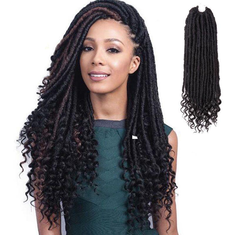 2019 Kanekalon Crochet Braids Hair Extensions 20 Inches Long
