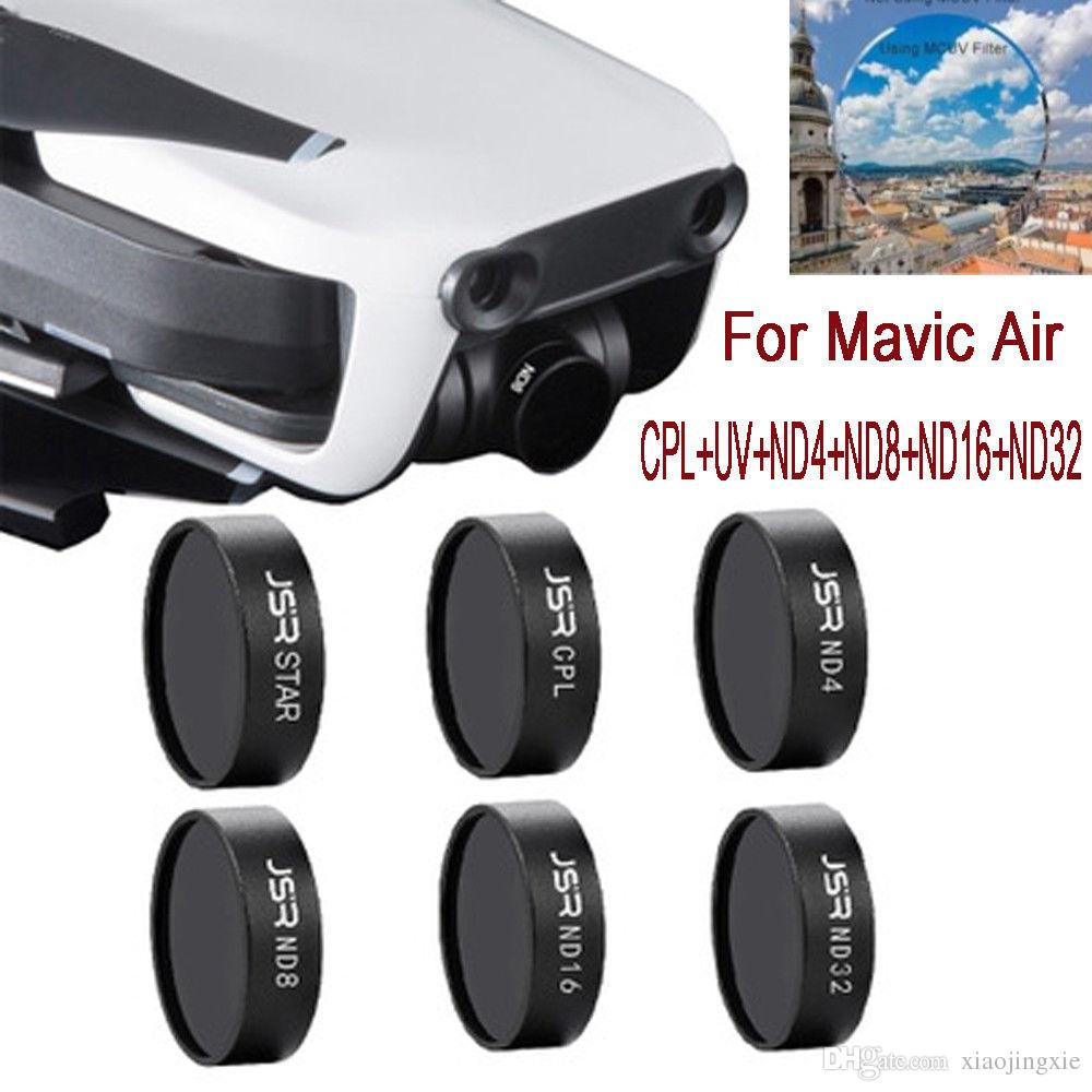 Gimbal Camera HD Lens Filter MCUV/CPL/STAR/ND4/ND8/ND16/ND32 For DJI Mavic Air Drone