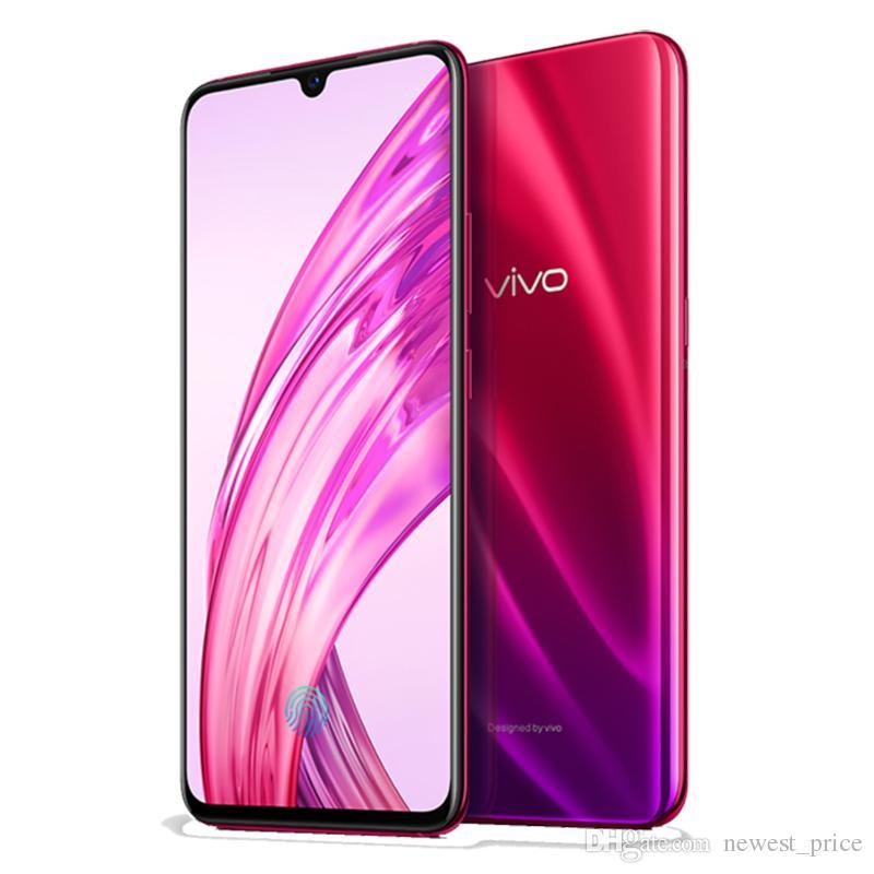 """Оригинальный мобильный телефон VIVO X23 4G LTE 8 ГБ ОЗУ 128 ГБ ROM Snapdragon 670 Octa Core Android 6,41 """"Полноэкранный 13,0-мегапиксельная идентификация лица Смарт-сотовый телефон"""