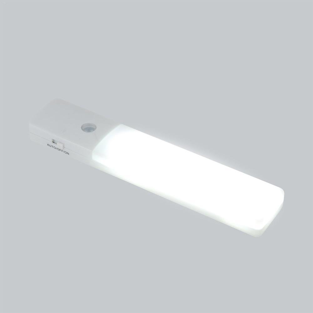 Atacado LED Sensor de Movimento Sensível Ao Ar Livre Luz Da Noite Auto Indução Sensor de Luz Da Cozinha Quarto roupeiro de parede interior Da Escada lâmpadas