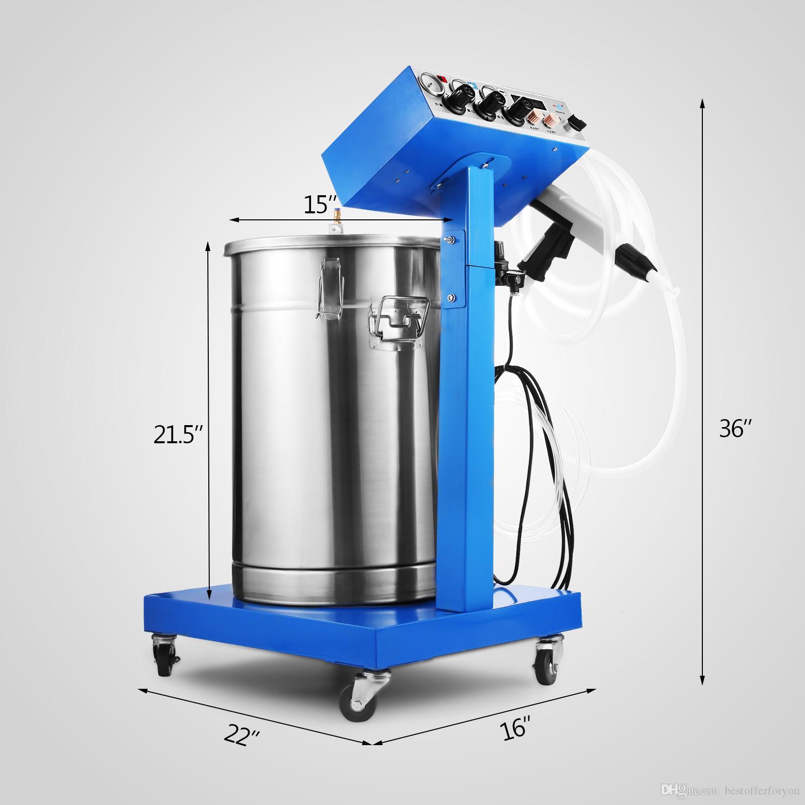 50W новое электростатическое оборудование для нанесения покрытия порошка системы краски пушки машины системы покрытия порошка брызга самое лучшее распыляя