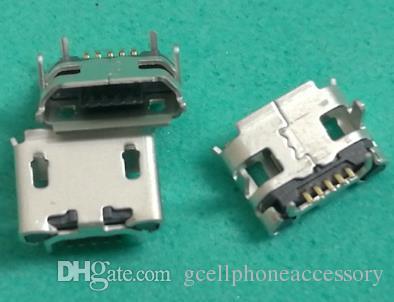Mini micro usb de carregamento da porta tomada jack soquete plug power para blackberry 8520 para lenovo ideatab a2109 u018