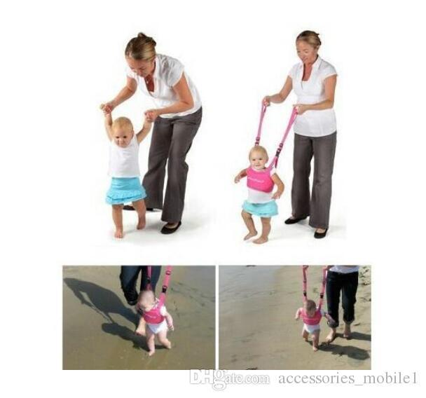 حار الرضع المشي حزام قابل للتعديل حزام المقاود الطفل تعلم المشي مساعد طفل سلامة تسخير حزام الحماية XXD مجانية