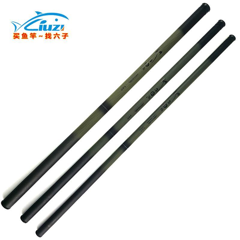 Vendita all'ingrosso Power Hand Rod telescopico in fibra di vetro Pali Stream Rod Canna da pesca portatile Spinning Ultra Leggero 3.6m 4.5m 5.4m