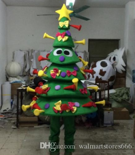 2018 Sıcak yeni EVA Malzeme Birçok hediyeler Noel ağacı Maskot Kostümleri Crayon Karikatür Giyim Doğum Günü partisi