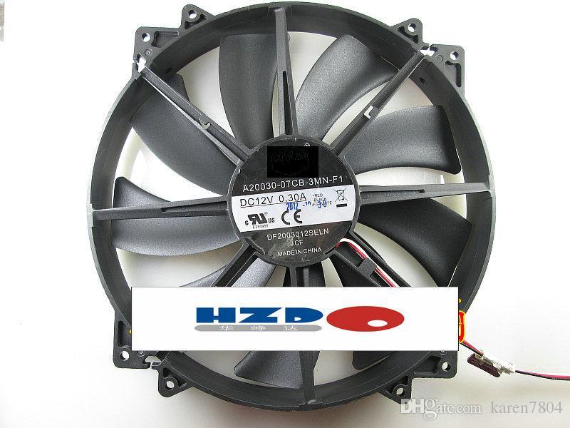 Coolermaster A20030-07CB-3MN-F1 DF2003012SLN 12V 0.30A Cyclone 200 20 CM HAF912 HAF922 BG0801-B045-00S 12 V 0.34A CPU CHPU Headsink