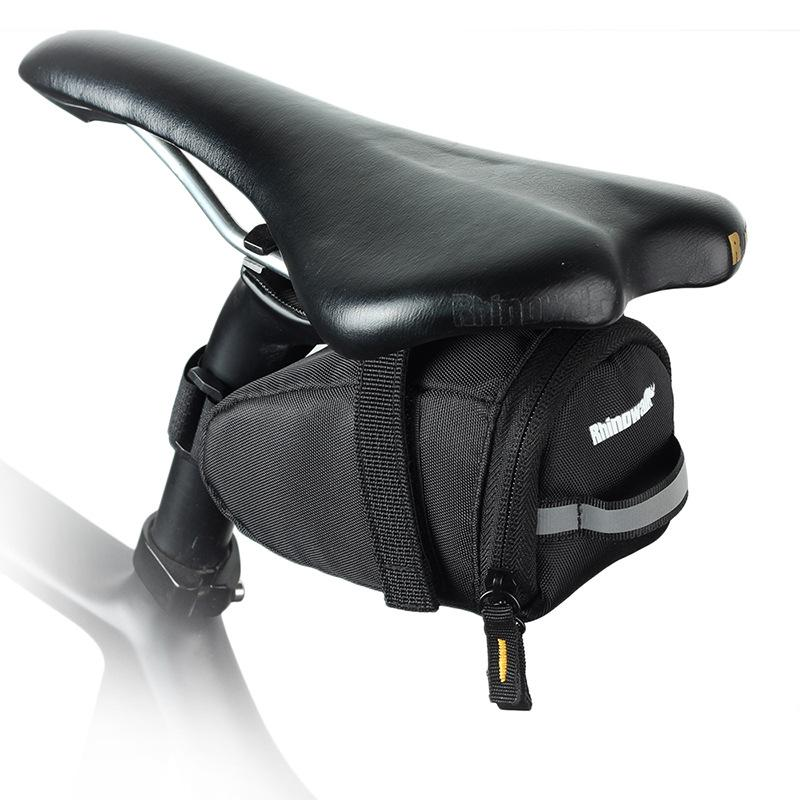 Bike Seat Saddle Bag Rear Under Seat Pack Bicycle Repair Tools Accessories