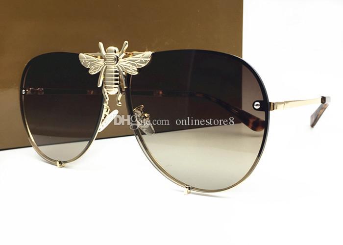 Stil 2238 sonnenbrille männer uv marke groß mit mode designer mit luxus beliebt the bienen top schutz frauen qualitätslinse kommen sommer pbin