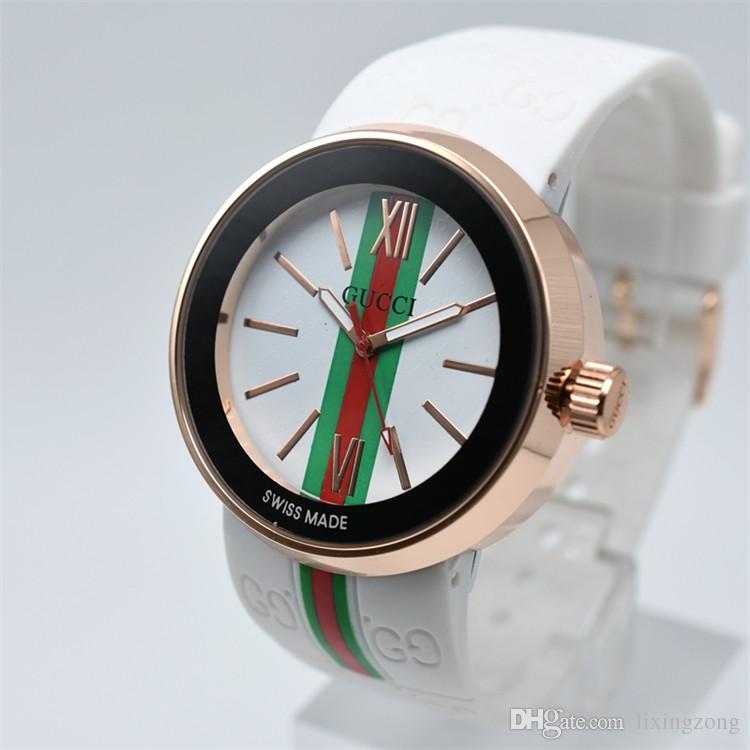2020 moda esportiva mulheres de homens de marca de topo populares 3A assistir qualidade Relógios Borracha Mens Luxo relógio de quartzo hombres Relógio Montre homme Reloj