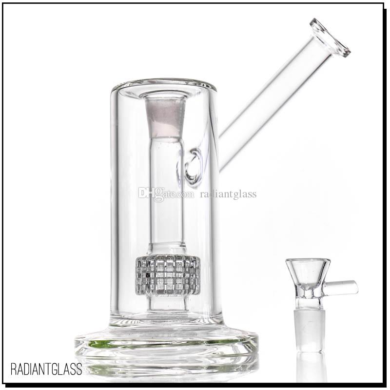 Hookahs New Bong Birdcage Percas Glass Bongs Tubos de fumo de água grossa com articulação de 18 mm