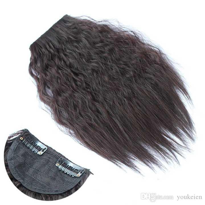 profonde scoppi dei capelli dell'onda di modo delle donne 12.5inch * clip 4 inch A parti dei capelli estensioni dei capelli sintetici
