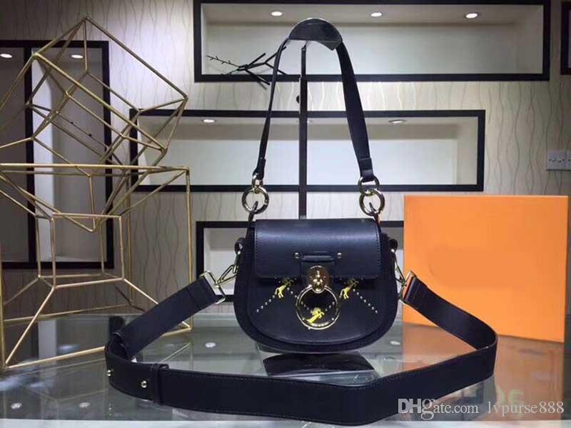 borse a tracolla di design Chloi marchio TESS borse di design di lusso famoso cavallo Chloa design Pony ricamo anello croce corpo borsa messenger