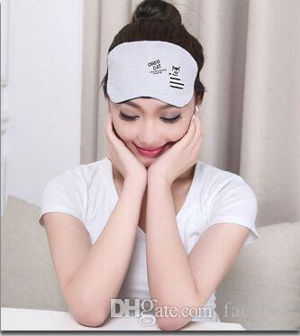 Máscara de ojo 3D cubierta de esponja NAP vs convejecilla Máscara de ojos Máscaras de ojos para las máscaras para dormir Sueño Sombra de sombra Envío Trade libre ZZH Silk Ugkgu