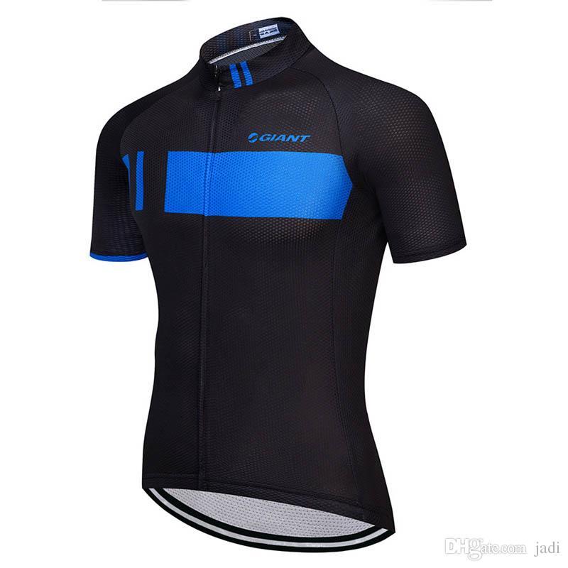 Maillot de cyclisme Pro Team GIANT VTT Maillot Vélo de Route Maillot Respirant Anti-sueur séchage rapide Été Maillot Ciclismo K061929