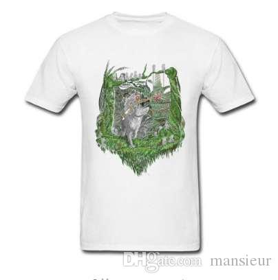 Principessa Mononoke New Mask T Shirt Zelda Game T-Shirt Unique Men Abbigliamento estivo Cotone nero Maglietta Anime Top Tees
