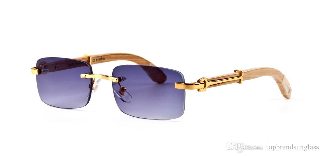 2019 NEW  MENS  Glasses Polarized  Designer  Sunglasses  BLUE Rectangular