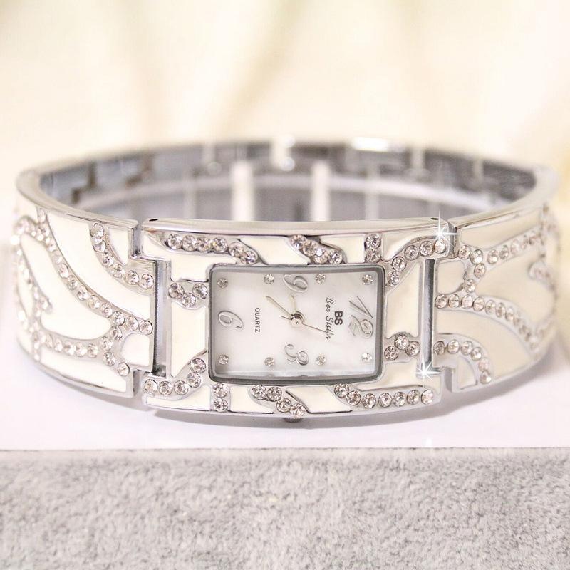2018 Мода Нержавеющей Стали Ремешок Часы Ювелирные Изделия Женщины Часы Алмазные Часы Кварцевые Часы Дамы Relogios Femininos