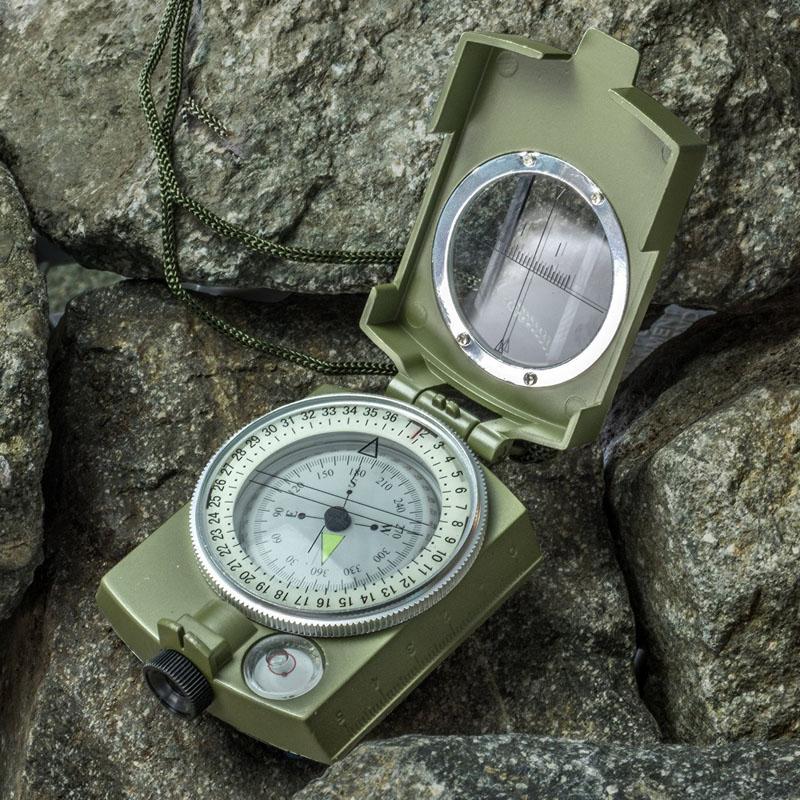Etanche Géologie Compass Visée camping en plein air Randonnée Boussole