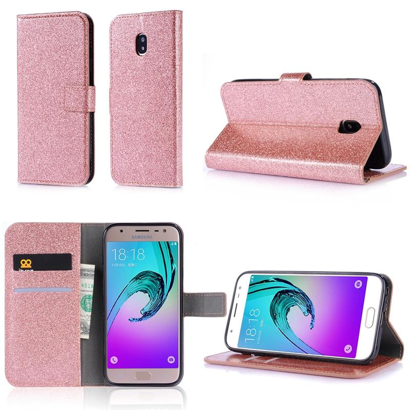 Leather Wallet For Iphone XS MAX XR XS X Samsung Galaxy (J3 J5 J7)2017 Europe Butterfly Glitter Card Slot Flip Cover Luxury Bling Sparkle