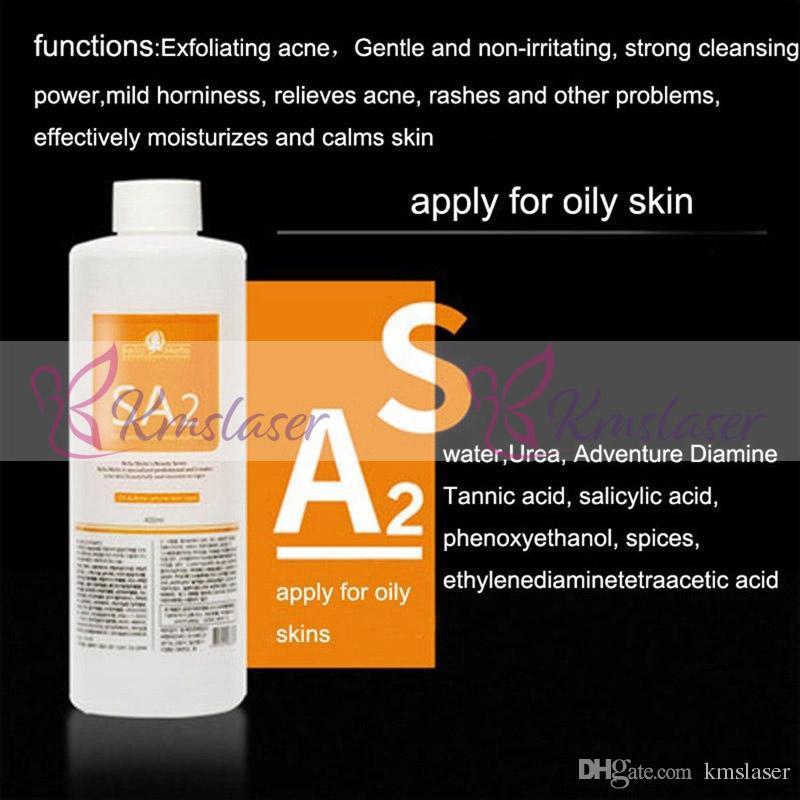 400 ml de solución de exfoliación con agua por botella, aqua, suero facial, hidra, suero facial para la piel normal CE DHL libre sh