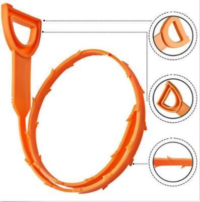 52cm Schlange Abfluss Weasel Haar Clog-Tool Starter Kit für Rohrreinigungshaushaltsreinigung Werkzeuge mit Opppackage CCA10086 600pcs