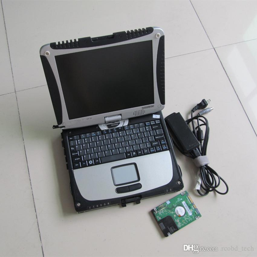 laptops with all data 10.53 aldata 2in1 installed in toughbook cf-19 for cars and trucks diagnostic computer