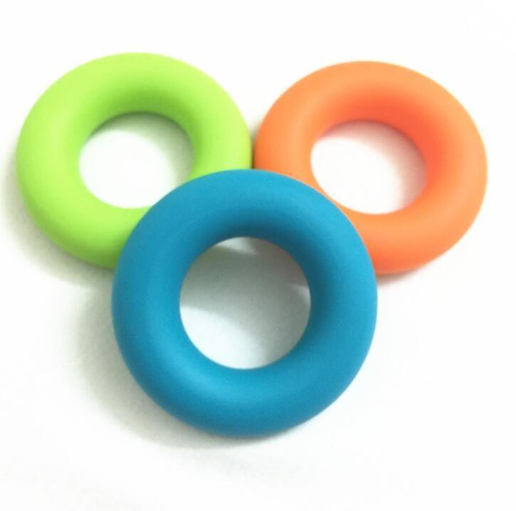 Фитнес-упражнение для упражнений с пальцами резиновые захваты для пальцев O-образный зажим для силы Портативные карманные кольца Ручные инструменты