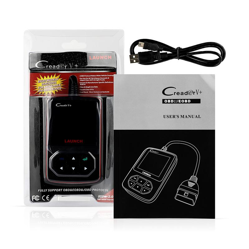 LAUNCH Scanner X431 Creader V+ OBD2 Diagnostic OBD_13